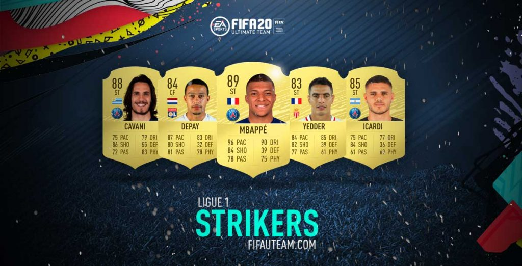 FIFA 20 Ligue 1 Strikers