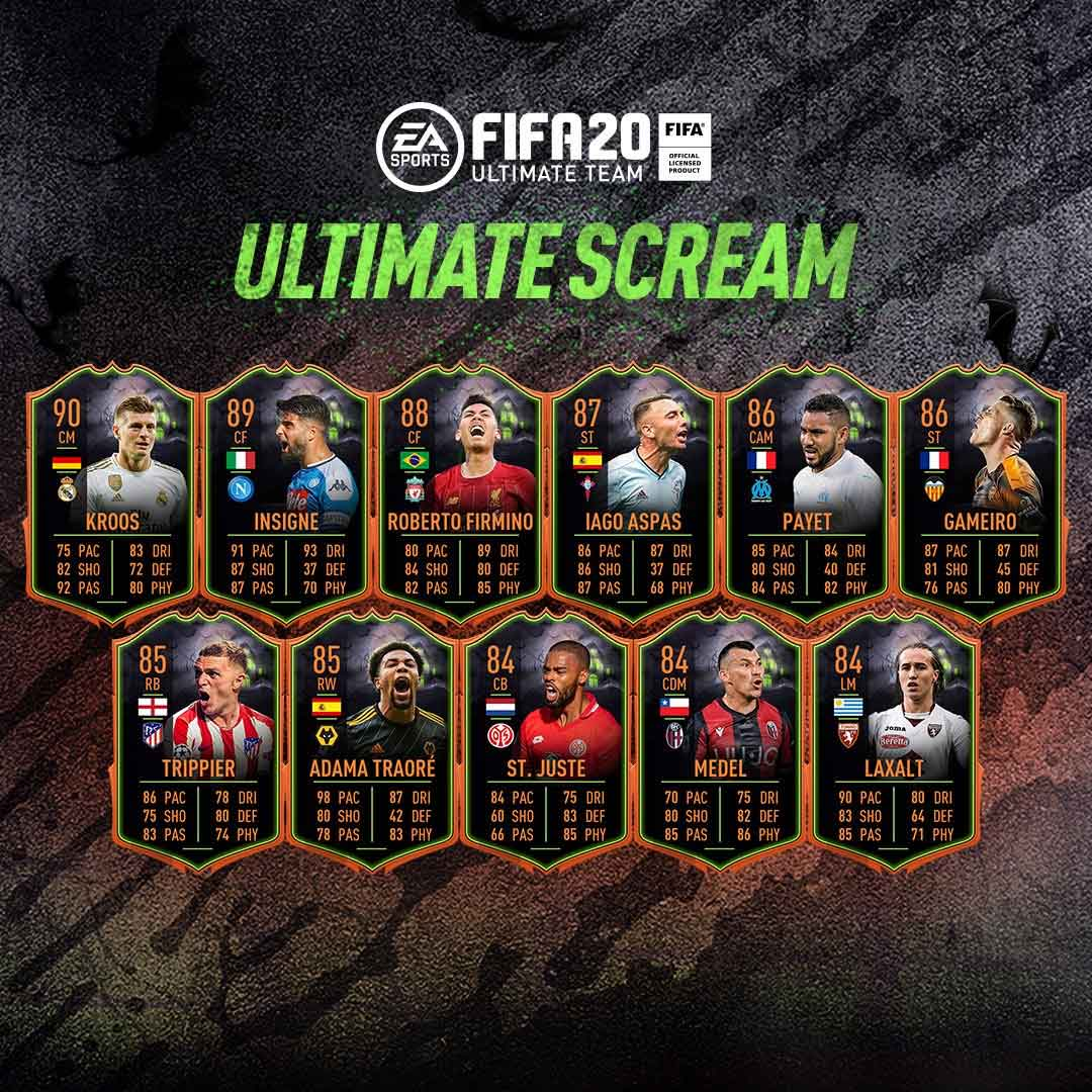 FIFA 20 Ultimate Scream Squad