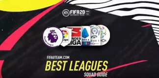 The Best Leagues to Play on FIFA 20 Ultimate Team