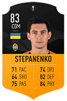 Stepanenko MOTM Item