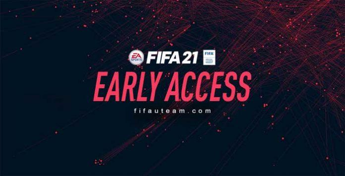 FIFA 21 Early Access