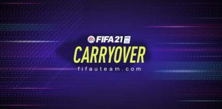 FIFA 21 Carryover