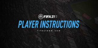 FIFA 21 Player Instructions