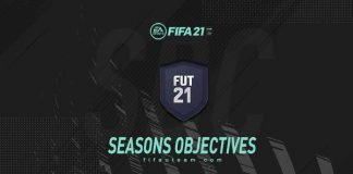 FUT 21 Seasons Objectives