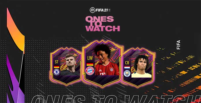 FIFA 21 Ones to Watch Promo Event - OTW Players and Offers List
