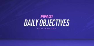 FIFA 21 Daily Objectives