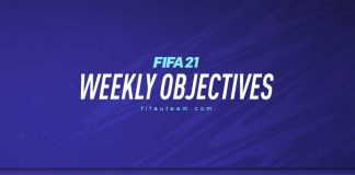FIFA 21 Weekly Objectives
