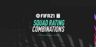 FIFA 21 Squad Rating Combinations