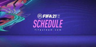 FIFA 21 Schedule