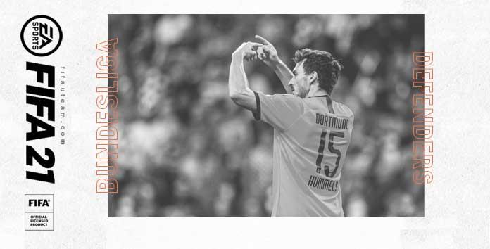 FIFA 21 Bundesliga Defenders