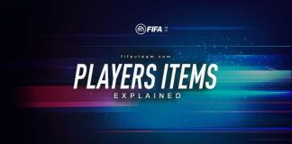 FUT 21 Player Items