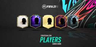 FIFA 21 Players Cards Guide