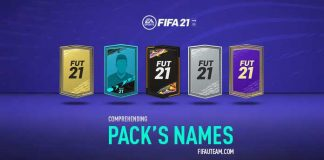 FIFA 21 Pack Names